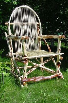 how to make a chair from branches | Found on sticksite.com