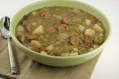 Split Pea Sausage Soup | $5 Dinners