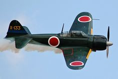 How Japan's Zero Aircraft Surprised Its Enemies | The National Interest Ww2 Aircraft, Fighter Aircraft, Aircraft Carrier, Military Aircraft, Fighter Jets, Ww2 Fighter Planes, Aircraft Photos, Ww2 Planes, Motor Radial