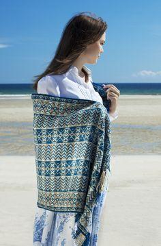 Ripple wrap overlooking the sea at Tolsta