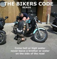 Stand by Your Fellow Biker.