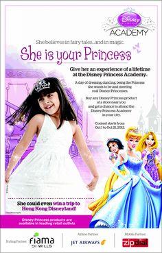 disney princess ad