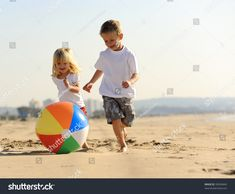 Find Beautiful Brother Sister Play Beach Ball stock images in HD and millions of other royalty-free stock photos, illustrations and vectors in the Shutterstock collection. School Holiday Activities, Outdoor Activities For Kids, Beach Ball, Family Day, Family Photo, School Holidays, Children's Place, Ten, Rainbow Colors