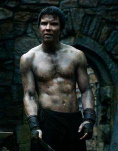 Gendry, apparently the only still-living bastard of King Robert Baratheon (played by Joe Dempsie)