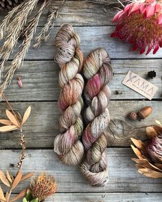 Hegemone ~ Greek goddess of plants, especially making them bloom.on Yama Merino Mohair Cobweb lace * * Available at… Knitting Needle Storage, Knitting Yarn, Knitting Ideas, Yarn Thread, Yarn Stash, Yarn Storage, Yarn Inspiration, Yarn Bowl, How To Purl Knit