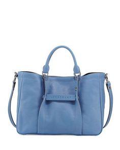 LONGCHAMP LONGCHAMP 3D MEDIUM TOTE BAG. #longchamp #bags #shoulder bags #hand bags #tote #lining #