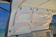 VanEssa Mobilcamping - Camping Ausbau für Deinen Van - T5, T6, Mercedes u.v.m. - Packtaschen für deinen Caddy Maxi