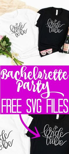 Get this free bride tribe SVG file along with a free bride to be SVG for any bridal shower or wedding! You will love all 16 free wedding SVG files in this post! Fun Diy Crafts, Cool Diy Projects, Free Wedding, Budget Wedding, Wedding Ideas, Diy For Teens, Diy For Kids, Little Gifts For Him, Cricut Tutorials
