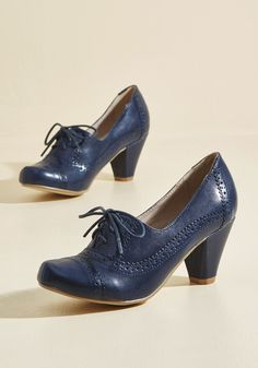 Rhythm and Views Oxford Heel in 36, #ModCloth