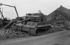 German Tiger tank 201 sPzAbt.301(Fkl) in Elsdof