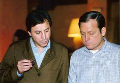 Con mi amigo, Gabriel Masfurroll