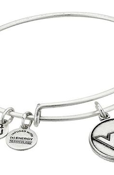 Alex and Ani Virginia Tech Logo Expandable Bangle (Silver) Bracelet - Alex and Ani, Virginia Tech Logo Expandable Bangle, AS15CLC08RS, Jewelry Bracelet General, Bracelet, Bracelet, Jewelry, Gift - Outfit Ideas And Street Style 2017