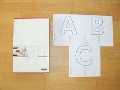 materialwiese: KOSTENLOS: Riesen-ABC und Füllerpässe
