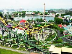 La Ronde, Montreal-this amusement park on Ile Sainte-Hélène boasts more than 40 exciting rides, among them the world's highest wooden rollercoaster, Le Monstre. Attracting visitors of all ages, La Ronde is Quebec's biggest amusement park and ranks high in the list of top attractions in Montreal, hosting many special events