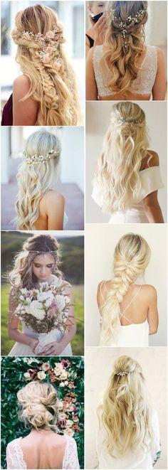 21 BOHO INSPIRED Unique and Creative Wedding Hairstyles #hairstyles #fashion #wedding #weddinghairstyles