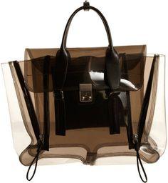 ShopStyle: 3.1 Phillip Lim Clear Pashli Satchel