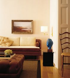 Interior design ideas by Thad Hayes, an internationally celebrated designer whose work can be seen in celebrity and weathly houses all over the world. Living Room Designs, Living Spaces, Living Rooms, Casa Retro, Grey Doors, Family Room Design, Living Room Paint, Luxury Living, Interiores Design