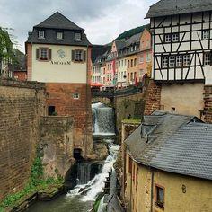 Picturesque German village captured by Instagram's flyquartz.
