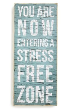 Free shipping and returns on PRIMITIVES BY KATHY 'Stress Free Zone' Box Sign at Nordstrom.com. Remind your family, friends and guests to leave their worries at the door with a weathered box sign that adds an extra touch of rustic charm to any space.