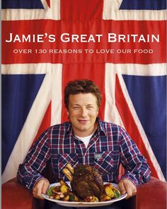Book: Jamie Oliver's Great Britain — 130 of My Favorite British Recipes, from Comfort Food to New Classics by Jamie Oliver Jamie Olivier, Simply Yummy, Cornish Pasties, Lamb Shanks, Cookery Books, Snacks Für Party, Great Britain, Favorite Recipes, Kitchens
