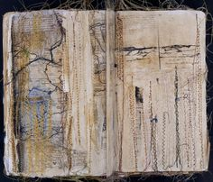 nina morgan, stitched pages...oh the tragic loveliness of this...