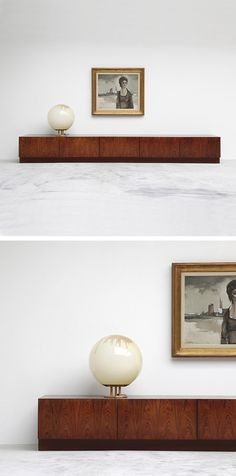 Low lying 70's credenza - LOVE