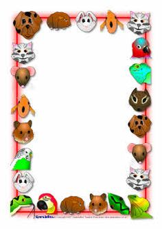 here is some pet themed notepaper that could be used to make mats rh pinterest com pet border clipart free pet border clipart