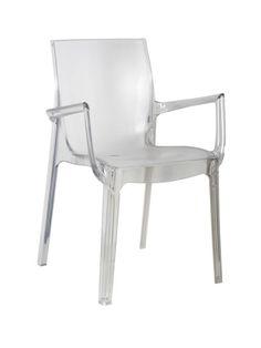 sillón iris policarbonato interior exterior hosteleria mobiliario ideal