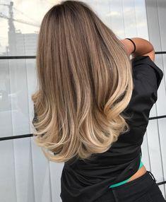 Tons de cabelo loiro dicas de luz de cabelo loiro - hair & make up - Ombre Hair Color, Hair Color Balayage, Hair Highlights, Hair Colour, Color Streaks, Light Hair, Gorgeous Hair, Hair Looks, Hair Trends