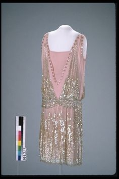 Evening Dress  -  1925-26  Defunct Fashion
