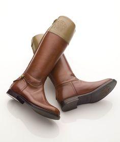 Alberto Fasciani Girls Cognac Riding Boot