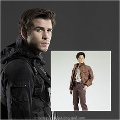 Liam Hemsworth as Gale Hawthorne: The Hunger Games - Movie Masterpiece Collectible Doll