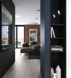 When you think of brick walls you typically think of lofts, country homes, maybe even bungalows. But brick walls are now used in a variety of spaces as faux and