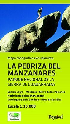 Mapa La Pedriza del Manzanares (Mapa Topografico Excursionista)  #MedinadeMarrakech