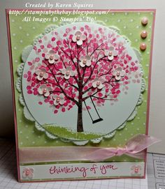 Stampin' By The Bay: Cherry Blossom Tree