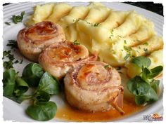 Czech Recipes, Ethnic Recipes, Cordon Bleu, Whole 30 Recipes, What To Cook, Food Hacks, Family Meals, Chicken Recipes, Good Food