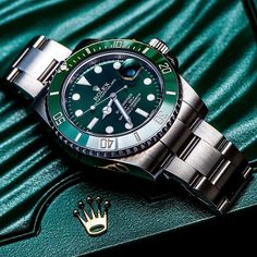 Follow @beautifulmensfashion ! Green is the new Black Tag someone who's favorite color is Green | @rolexing24_7
