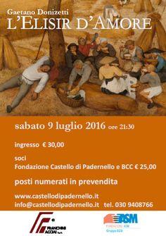 L'Elisir d'Amore al Castello di Padernello http://www.panesalamina.com/2016/49358-lelisir-damore-al-castello-di-padernello.html