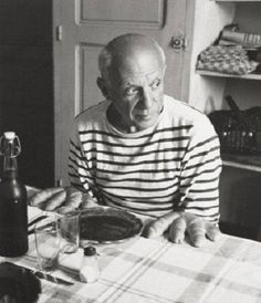 'Les Pains de Picasso', Vallauris, France, 1952 (photo by Robert Doisneau; printed later)