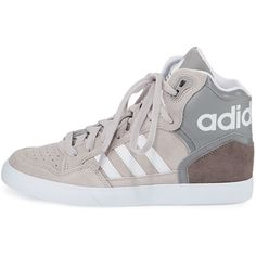 huge selection of fd977 d77c3 Adidas Extaball High-Top Sneaker ( 70) ❤ liked on Polyvore featuring shoes,  sneakers, flat shoes, high top shoes, adidas high tops, hi tops and patent  ...