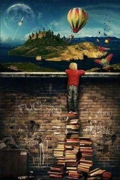 libros montón