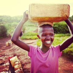 charity: water is a non-profit organization bringing clean, safe drinking water to people in developing countries. of public donations go to water projects. Charity Water, Genuine Smile, Dont Forget To Smile, Business Innovation, Belly Laughs, Life Is Beautiful, Beautiful Things, Beautiful People, Keep It Cleaner