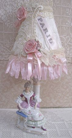 1 French Lady Lamp-French Lady Lamp