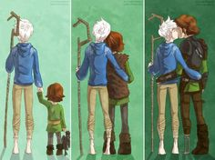 Hiccup x Jack It was cute until I realized that Jack will out live Hiccup. JACK HAS TO WITNESS HIS DEATH!!!