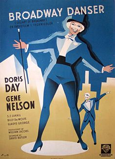 Doris Day foreign movie poster