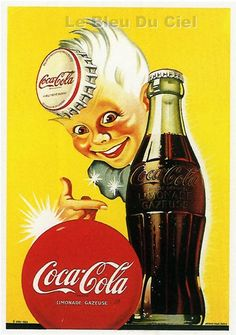 One of the first poster of Coca-Cola