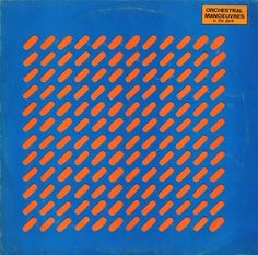 album cover by Orchestral Manoeuvres In The Dark by Peter Saville (1980)