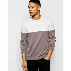 Avant Couture - John Crew Neck Sweater in Charcoal Life Is Good ...