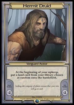 Other - Vanguard MTGO 2 - Hermit Druid