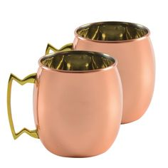 10 Strawberry Street 'Moscow Mule' Copper Mugs (Set of Copper Moscow Mule Mugs, Copper Mugs, Irish Coffee, Wine Glass Set, In Vino Veritas, Drinking Glass, Mugs Set, Antique Copper, Drinkware